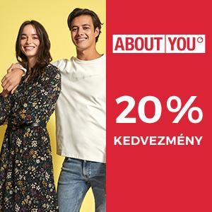 20% kedvezmény az About You-nál